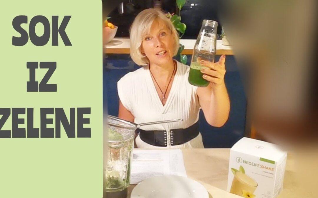 Zelena – kako pripraviti sok iz zelene